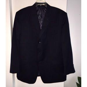 48R Calvin Klein Sports Blazer Suit Jacket, Wool